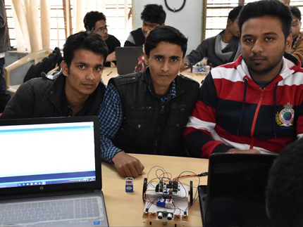 nitd, robotics workshop