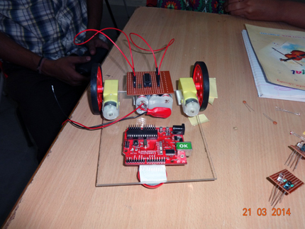 nshm, robotics workshop